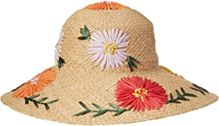 Women's Punta Cana Packable Straw Sun Hat, Rated UPF 40 for Excellent Sun Protection