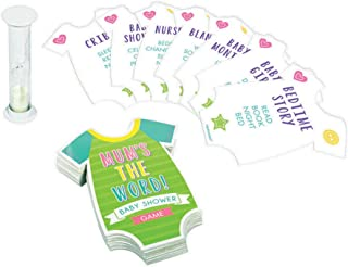 Amscan Mum's The Word Baby Shower Game - All Ages