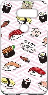 时已经寿司。 透明手机壳 Tpu 印花寿司花纹手机壳适用所有机型 寿司総柄B 12_ JOJO L-02K