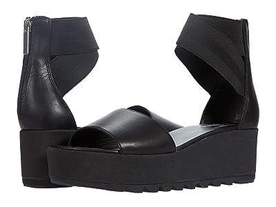SOREL Cameron Flatform Ankle Strap (Black 1) Women