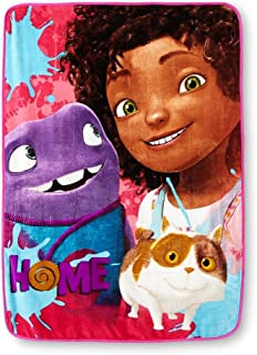 The Northwest Company DreamWorks Home, Home Away Micro Raschel Throw Blanket, 46 by 60