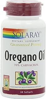 Solaray Oregano Oil 70% Carvacrol Supplement, 60 Count