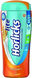 Horlicks Lite - Health and Nutrition drink (Regular Malt) 450gm Pet Jar