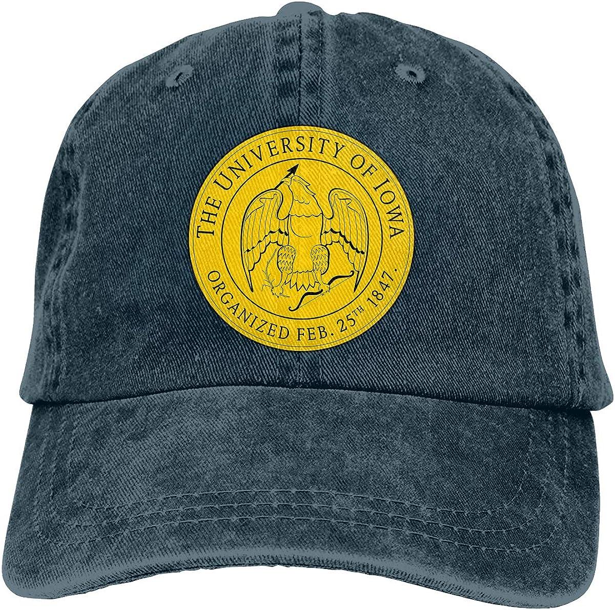Uiowa Commemorate Casquette Cap Vintage Adjustable Unisex Baseball Hat