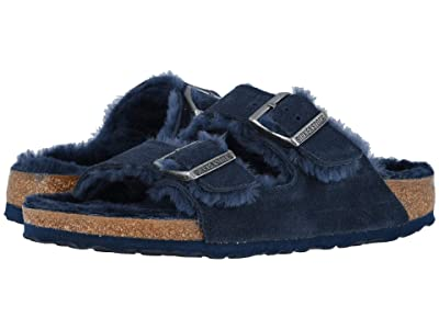 Birkenstock Arizona Shearling (Shearling Night/Night Suede/Shearling) Women
