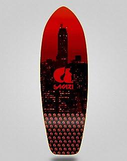 Sakari Surfskate Skate Skateboard Deck City Red 31...