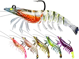 TRUSCEND Fishing Lures for Bass, Soft Swimbaits with...
