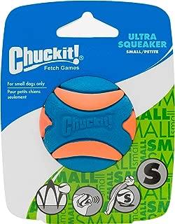 Chuckit! Ultra Squeaker Ball Orange & Blue, Small 12ct (12 x 1ct)