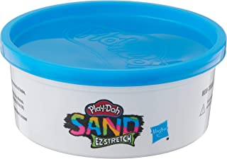 Play-Doh F0155 Sand EZ Stretch Single Can of Blue Stretchable Activity Sand Compound for Kids 3 Years and Up, 6 Ounces, No...
