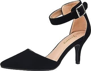 Best black kitten heel shoes Reviews