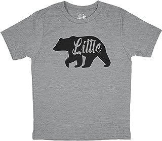 Toddler Little Bear for Children Adorable Funny Novelty Family T Shirt