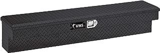 UWS EC30082 36-Inch Gloss Black Heavy-Wall Aluminum Truck Side Tool Box, RigidCore Lid