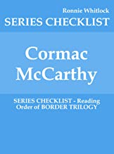 Cormac McCarthy - SERIES CHECKLIST - Reading Order of BORDER TRILOGY