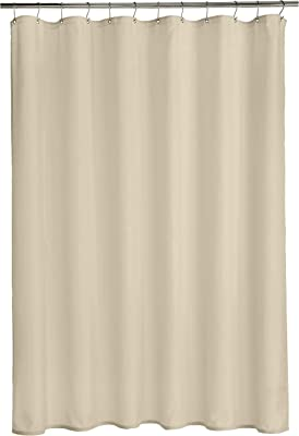 Amazonベーシック シャワーカーテン ポリエステル プレーンウィーブ 183×183cm パミス