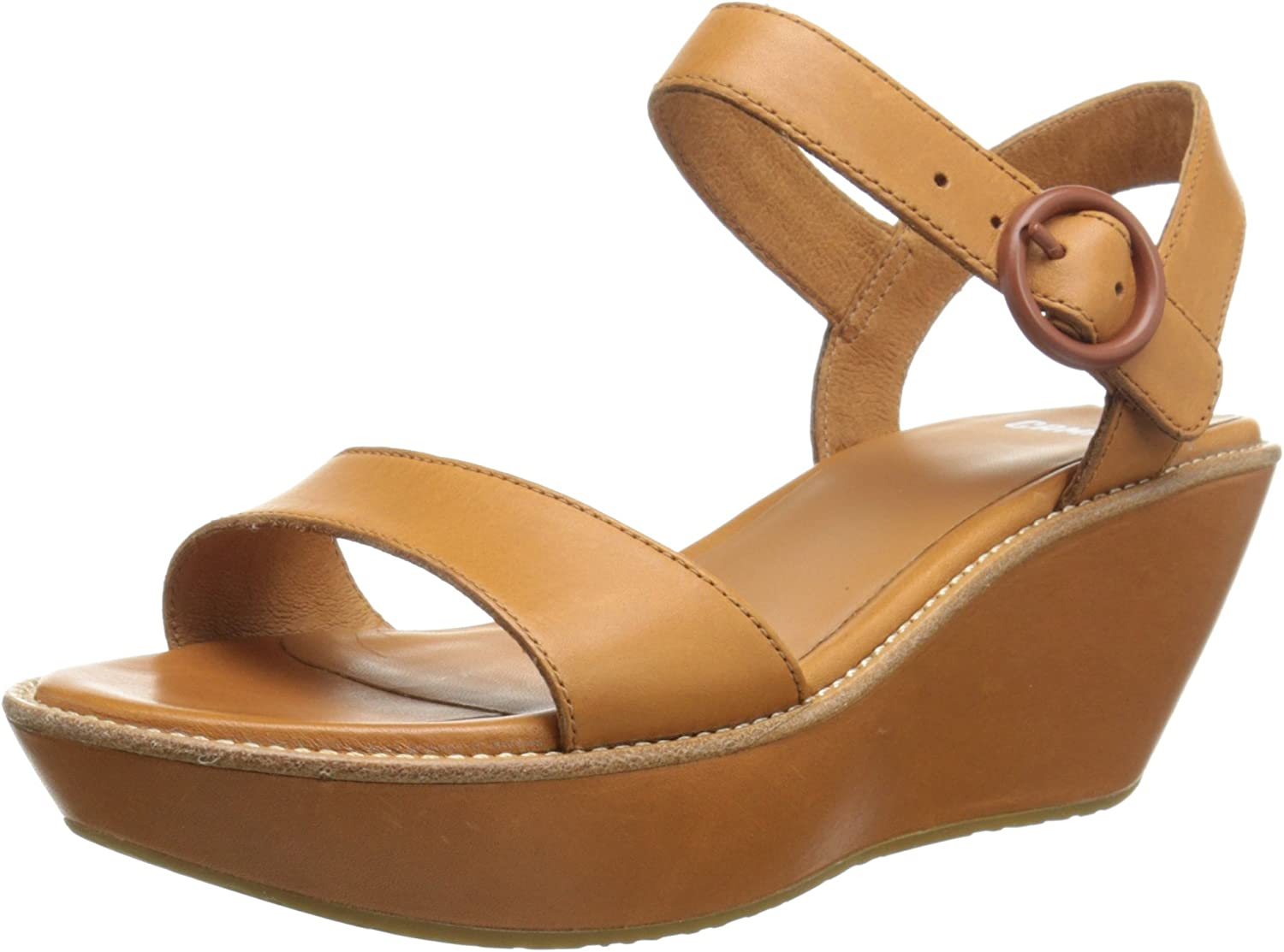 Camper Women's Damas Strap Wedge Sandal