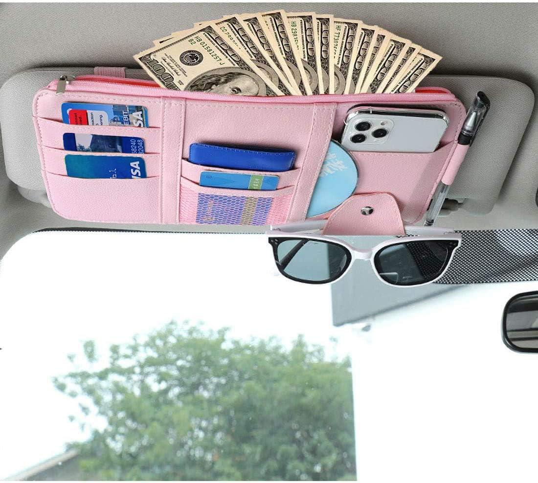 Simplux Car Sun Visor Organizer Accessories Indefinitely Interior Auto Pocke Max 86% OFF