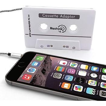 Reshow Car Audio aux Cassette Adapter
