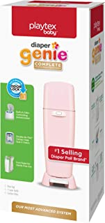 Playtex Diaper Genie Complete Diaper Pail, Fully Assembled, with Odor Lock Technology,..