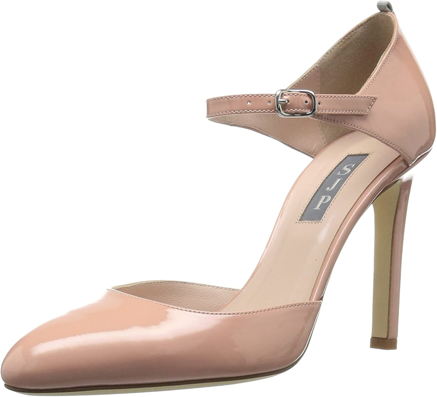 SJP by Sarah Jessica Parker Womens Campbell Closed Toe Ankle Strap Pump