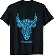 Taurus Personality Astrology Zodiac Sign Horoscope Design T-Shirt