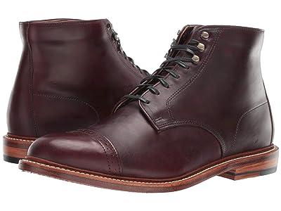 Bostonian No. 16 Cap (Burgundy Leather) Men
