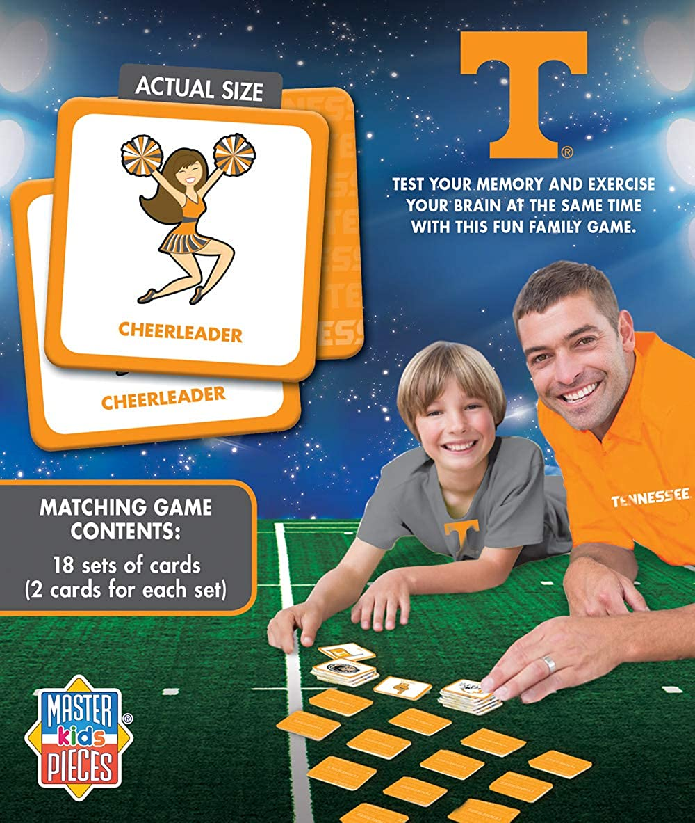 MasterPieces NCAA Matching Game For Ages 3+