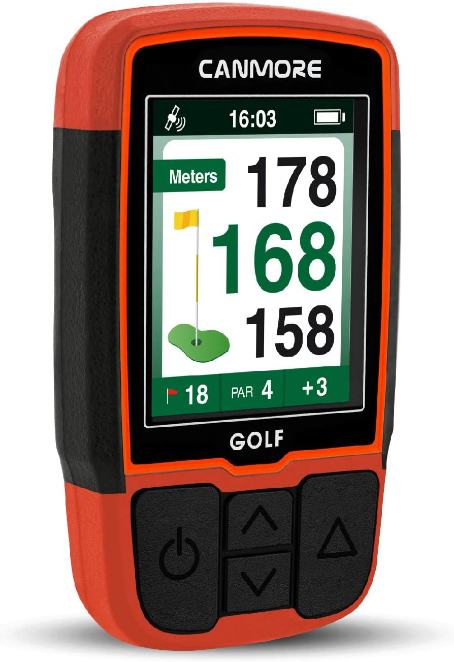 CANMORE Handheld outlet Golf GPS HG200 Resistant Water FullColor - Ranking TOP17 Disp