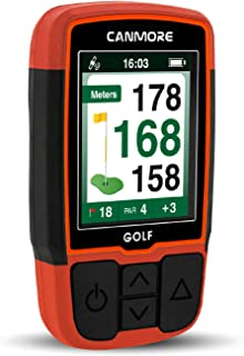 CANMORE Handheld Golf GPS HG200 - Water Resistant Full-Color Display with 38,000+ Essential Golf Course Data and Score She... photo