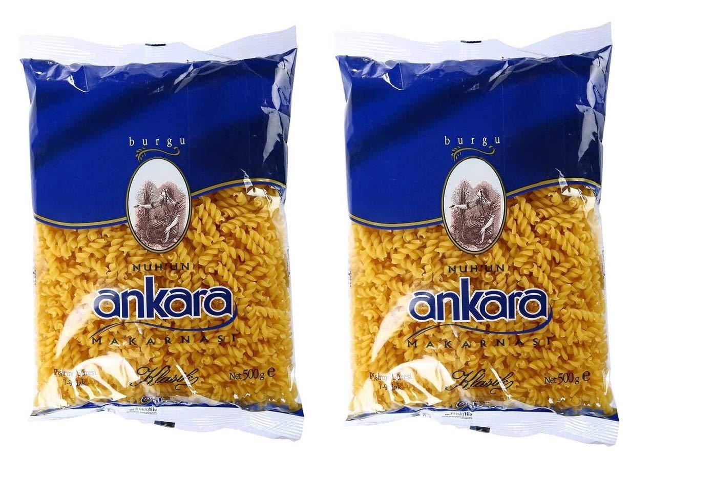 Ankara Pasta Pack of 2 Houston Mall Fusilli per 17.63 Box Mail order oz g 500