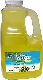 Coconut Secret Raw Coconut Vinegar - 1 Gallon - Rich in Vitamins & Amino Acids - Organic, Vegan, Non-GMO, Gluten-Free, Kos...