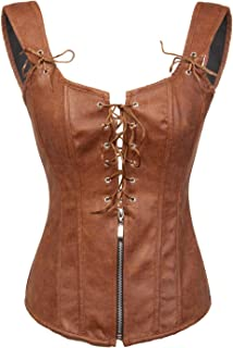 Best brown corset with straps Reviews