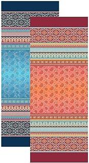Bassetti Chemin de Table, Coton, Rouge, 50x150