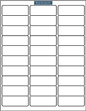Blank Labels Brand Economy Grade Address Labels. Size 2-5/8