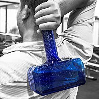 Hammer For Thor Shaped Water Bottle Sports Large Capacity Water Bottle 57Oz/1.7L BPA Free,Leak Proof Drinking Water Jug Container For Gym Bodybuilding Hiking