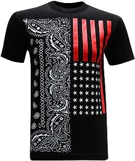 tees geek California Republic Red Flag Men's T-Shirt
