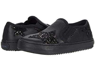 Geox Kids Kalispera 43 (Toddler/Little Kid) (Black) Girl