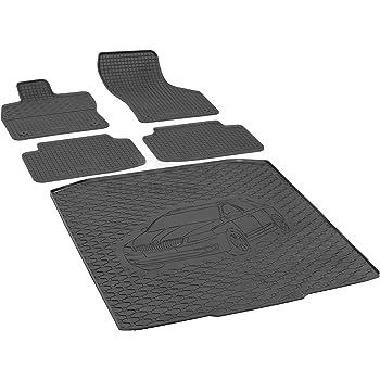 3D Premium Gummifussmatten für DACIA Duster 4 WD Bj 2010-2014 Antirutsch