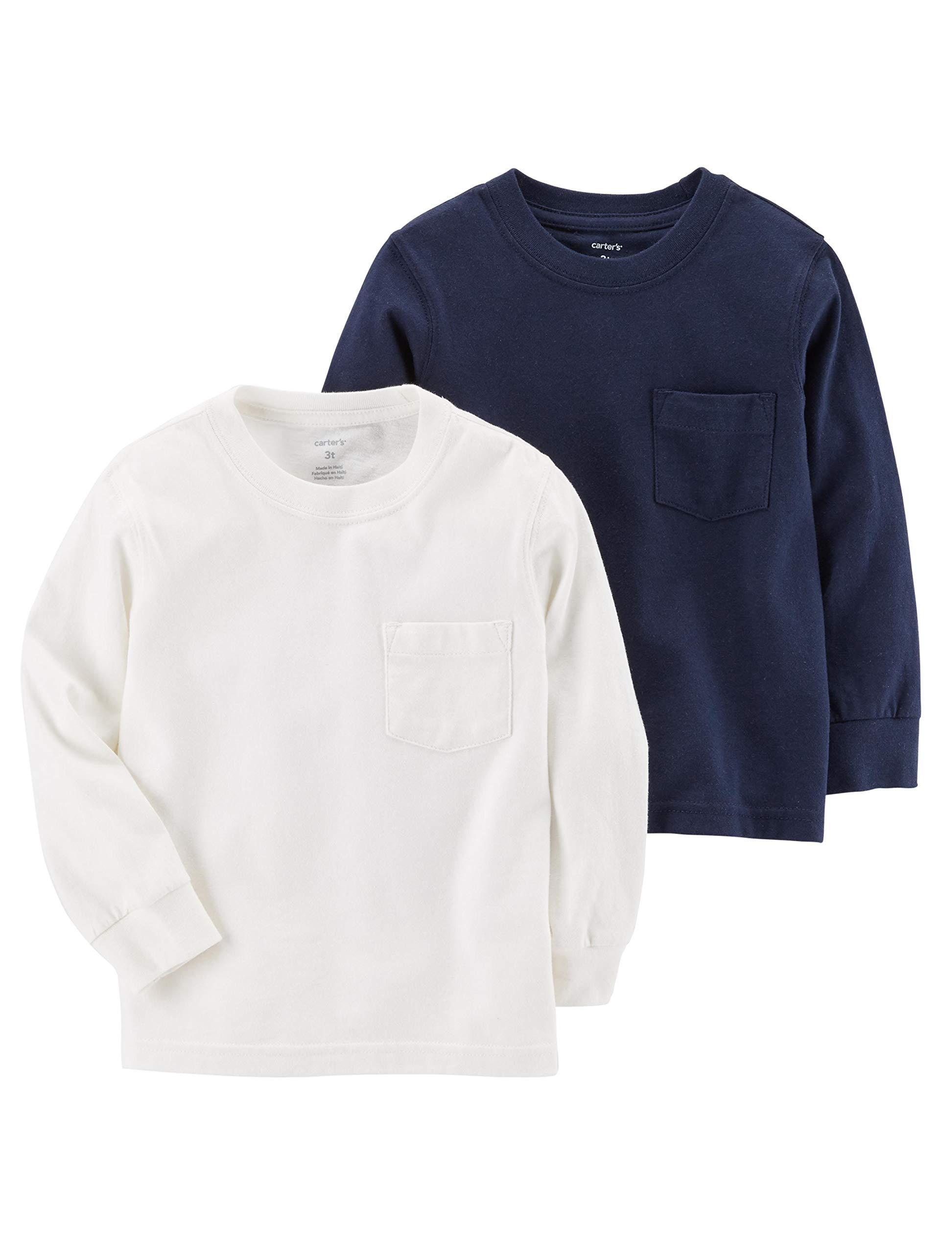 カーターズボーイ2ピースロングスリーブTシャツ