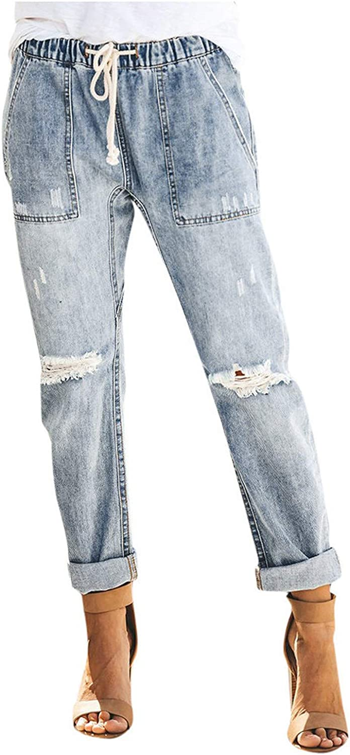 MASZONE High Waisted Jeans for Women, Straight Fit Y2K Stretch Jeans Straight Leg Denim Pants Trendy Loose Fit Trousers