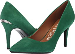 Grass Green Leather Suede
