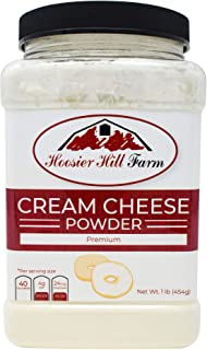 Hoosier Hill Farm Cream Cheese powder, 1 Lb. Gluten Free and rBGH and rBST free.