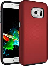 Samsung Galaxy S7 Case, Galaxy S7 Case IPASON Dual Layer Light Durable Non-Slip Shockproof Protective Cover for Samsung Galaxy S7,Red