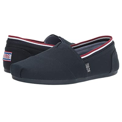 BOBS from SKECHERS Bobs Plush Preps Cool (Navy/Red) Women