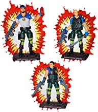 JoeCon 2018 GI Joe Convention Exclusive 2018 Slaughters Marauders Renegades 3 Pack 3 3/4 Inch Action Figures