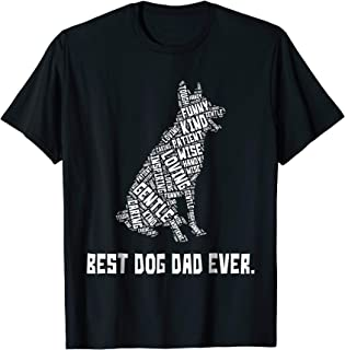 Best Dog Dad Ever Father's Day T-shirt for Dog Lovers