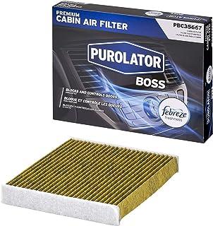 Purolator PBC35667 PurolatorBOSS Premium Cabin Air Filter with Febreze Freshness fits Select Toyota, Lexus, Land Rover