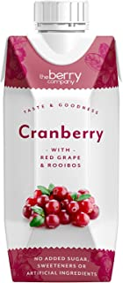 The Berry Company Cranberry Juice Blend with Rooibos & Red Grape, 330 ml