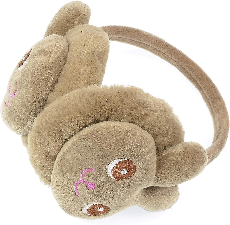 Hand By Louisville-Jefferson County Mall Kids Bunny Max 67% OFF Earmuffs Winter Soft Ear Animal Warmers