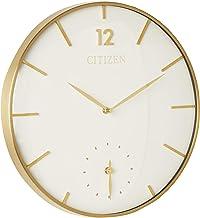 Citizen CC2034 Gallery Wall Clock, Gold-Tone