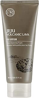 [THEFACESHOP] Jeju Volcanic Lava Pore Cleansing Foam For Facial Cleansing (150mL/5.0 Oz)